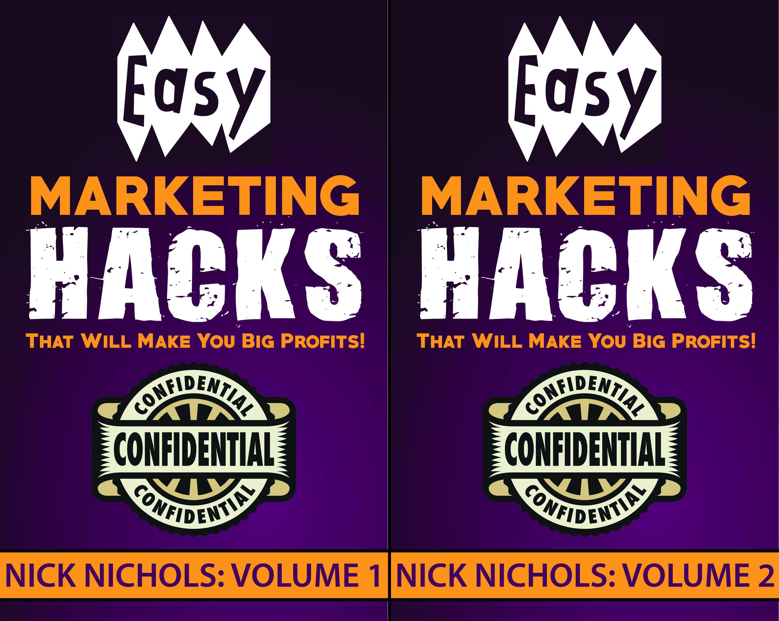 Easy Marketing Hacks (2 Book Series)