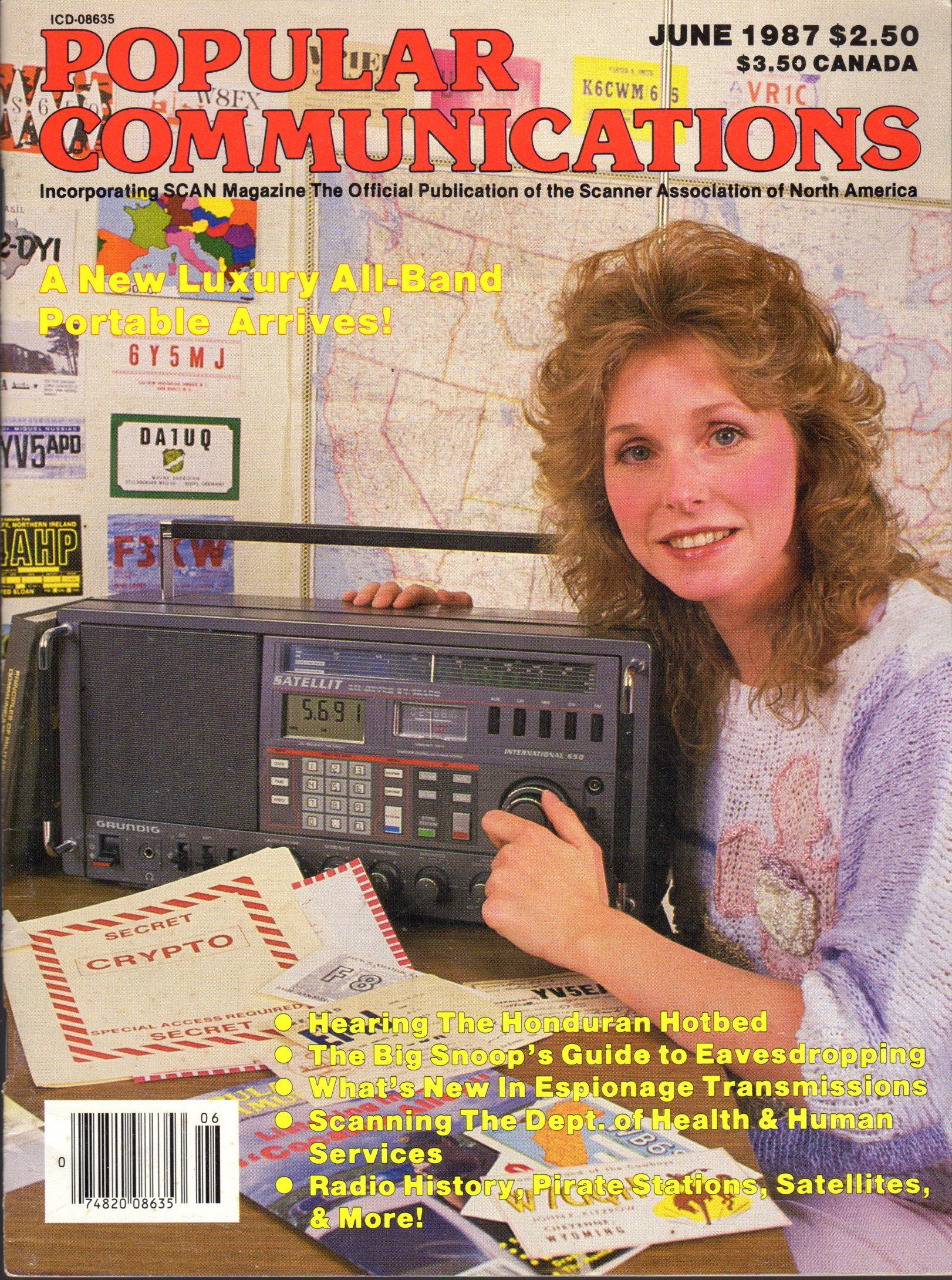 Popular Communications Magazine - Jun 1987 - Portable