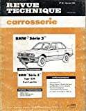 REVUE TECHNIQUE CARROSSERIE N° 89 BMW SERIE 3 (E 30)
