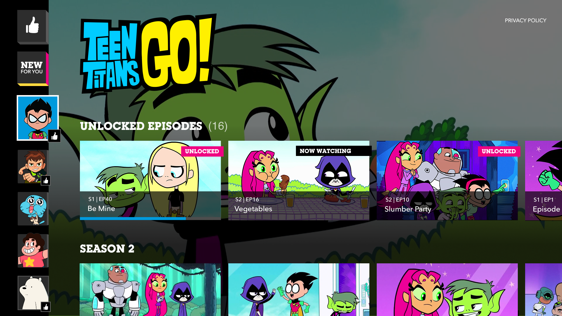 Cartoon Network App – Watch Videos, Clips and Full Episodes of Your  Favorite Shows