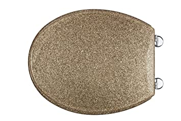 Croydex Gold Glitter Toilet Seat  Amazon co uk Kitchen Home