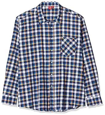 Engelbert Strauss - Camisa de Trabajo, 3XL, Azul Oscuro, Azul Granate, Amarillo.: Amazon.es: Industria, empresas y ciencia
