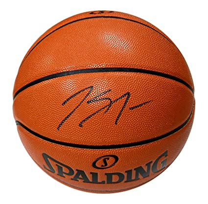 32351a92a Karl-Anthony Towns Minnesota Timberwolves Signed Autographed Spalding NBA  Game Replica Basketball