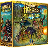 Heroes of Land, Air & Sea UNPAINTED - 4X RTS Large Scale Board Game