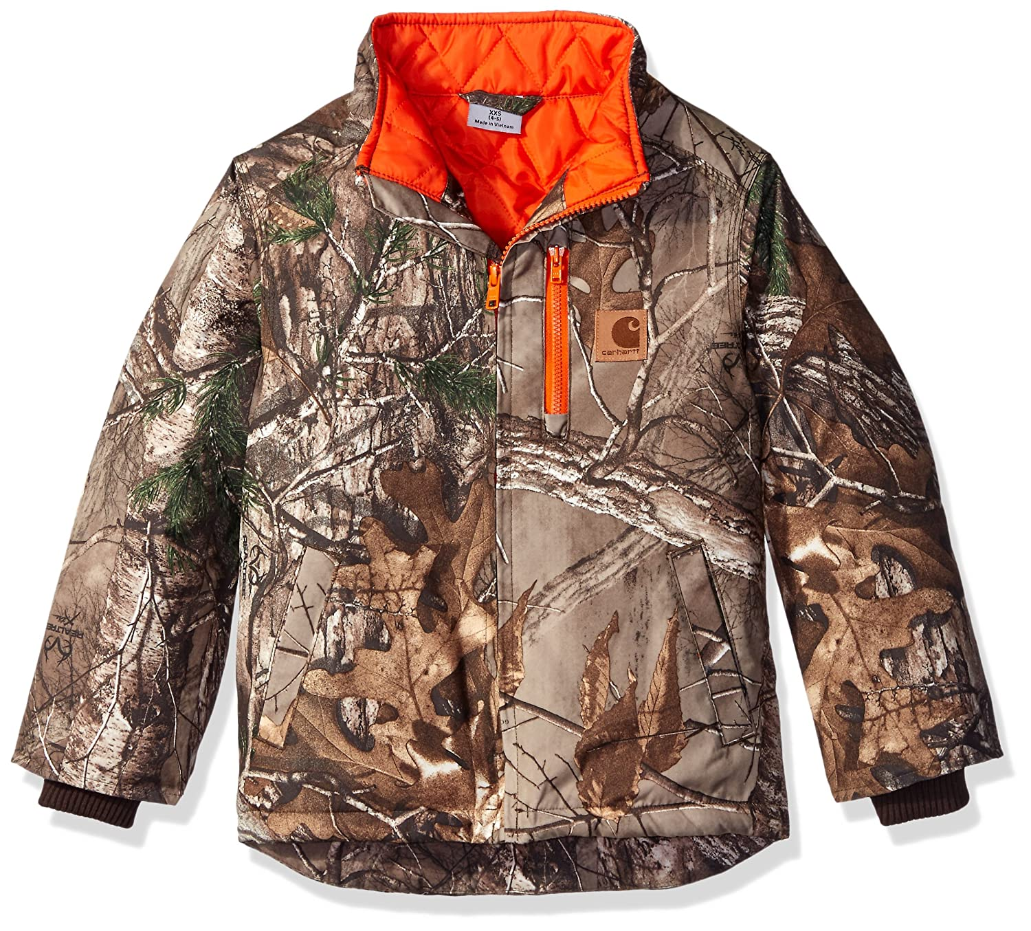 Carhartt Little Boys' Camo Jacket