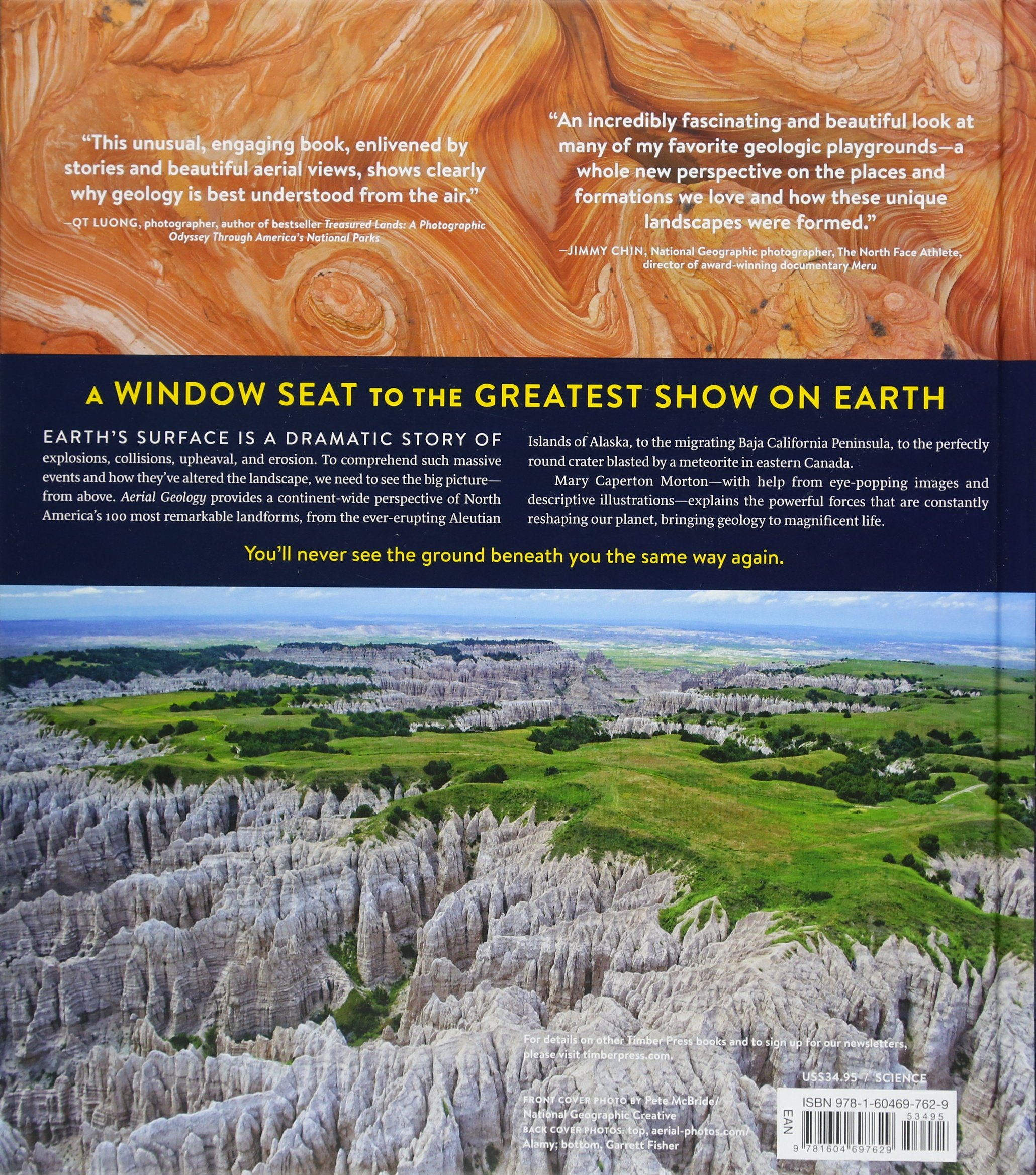 Aerial Geology: A High-Altitude Tour of North America's Spectacular  Volcanoes, Canyons, Glaciers, Lakes, Craters, and Peaks: Mary Caperton  Morton: ...