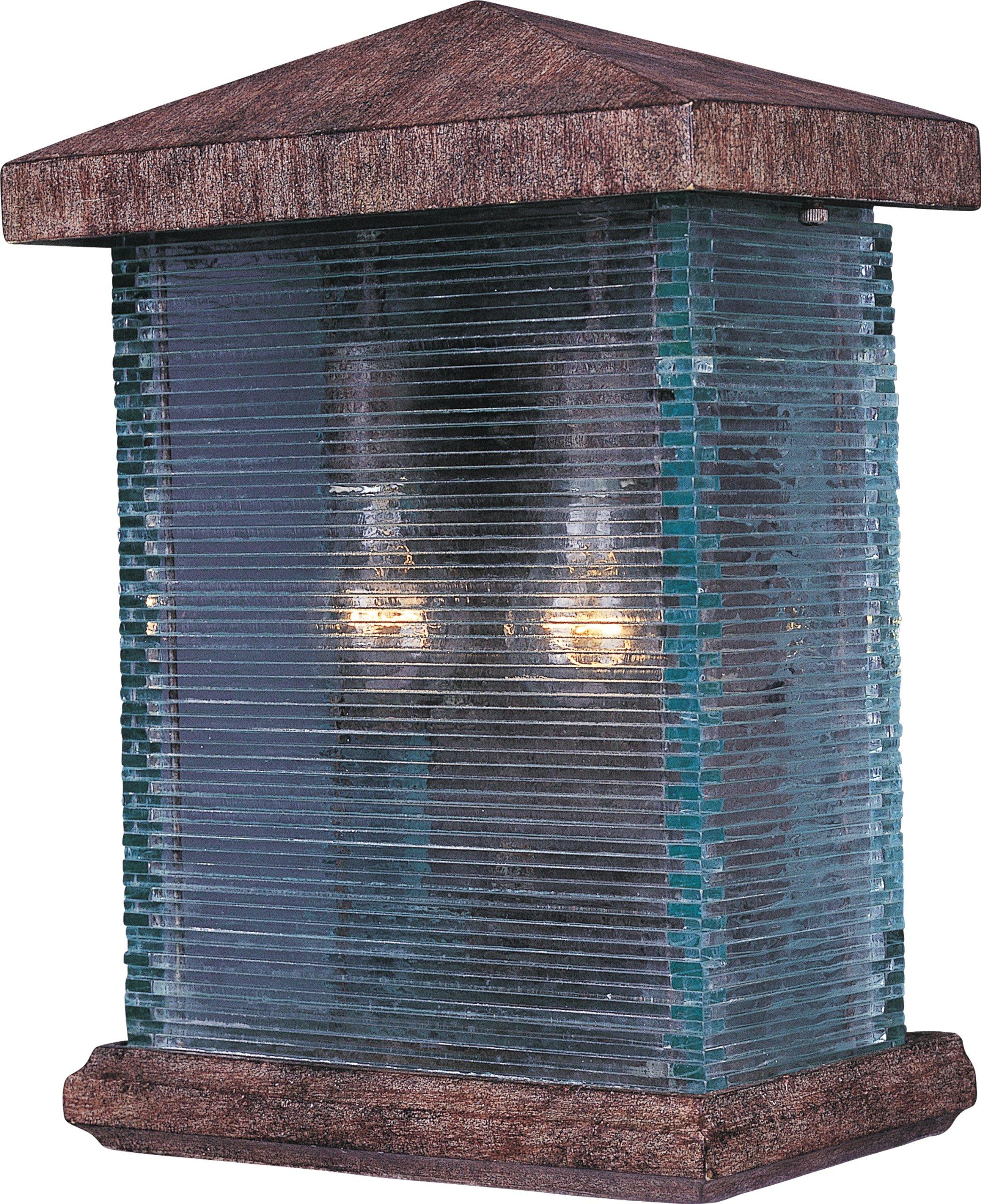 Maxim Lighting 48734CLET Triumph VX-Outdoor Wall Mount 2-Light Lantern