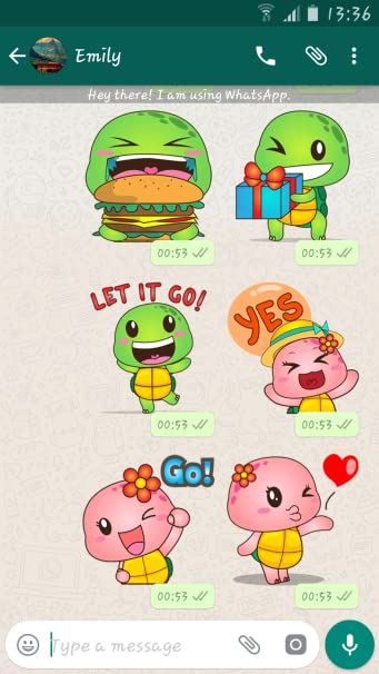Amazon.com: Turtles Stickers Packs For Whatsapp - WASticker ...