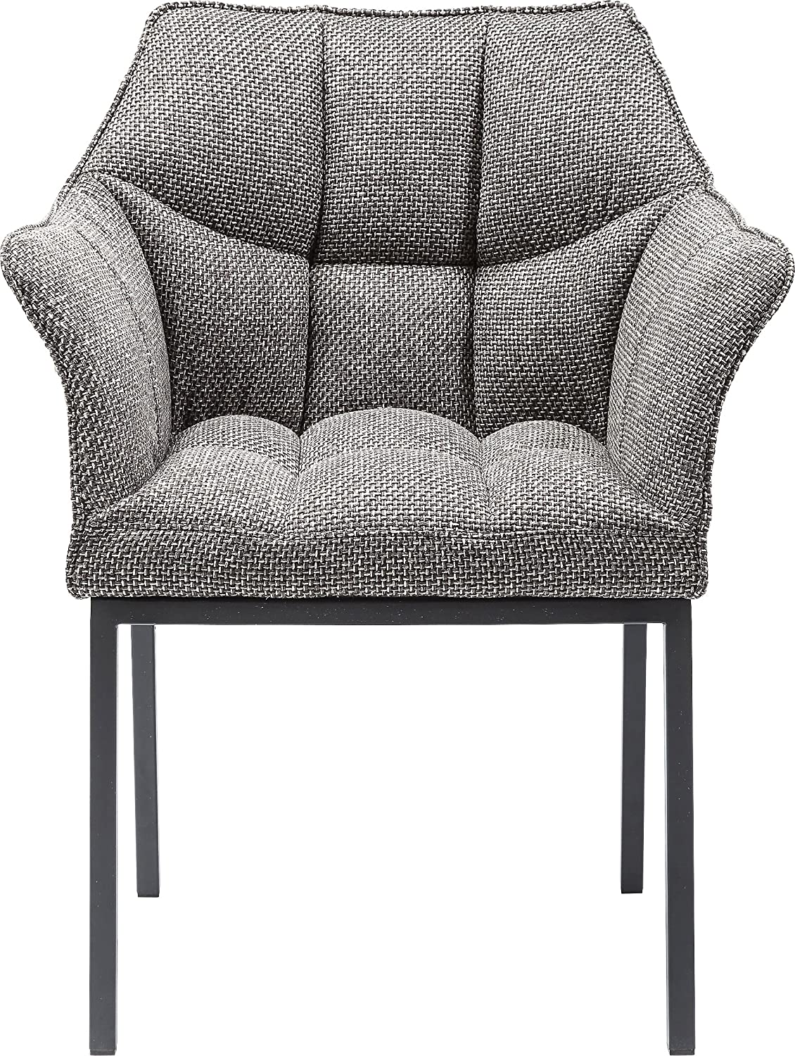 Polyester Kare Thinktank Fauteuil H//B//T 85x65x55 cm Pepper+sel,