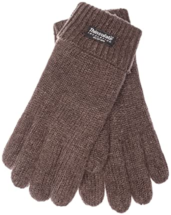 UK-Shop Neupreis Super süße EEM Herren Strick Handschuhe LASSE mit Thinsulate™ Thermofutter, 100% Wolle  oder 100% Baumwolle das Material ist farbabhängig, modisch, warm