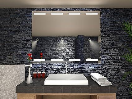 Specchio di orleans bagno specchio con illuminazione a led cm