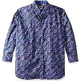 ELY CATTLEMAN Men's Long Sleeve Paisley Shirt