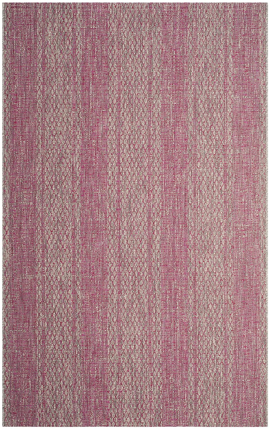 Safavieh Courtyard Collection CY8736-37212 Light Grey and Teal Indoor Outdoor Area Rug CY8736-37212-3 27 x 5