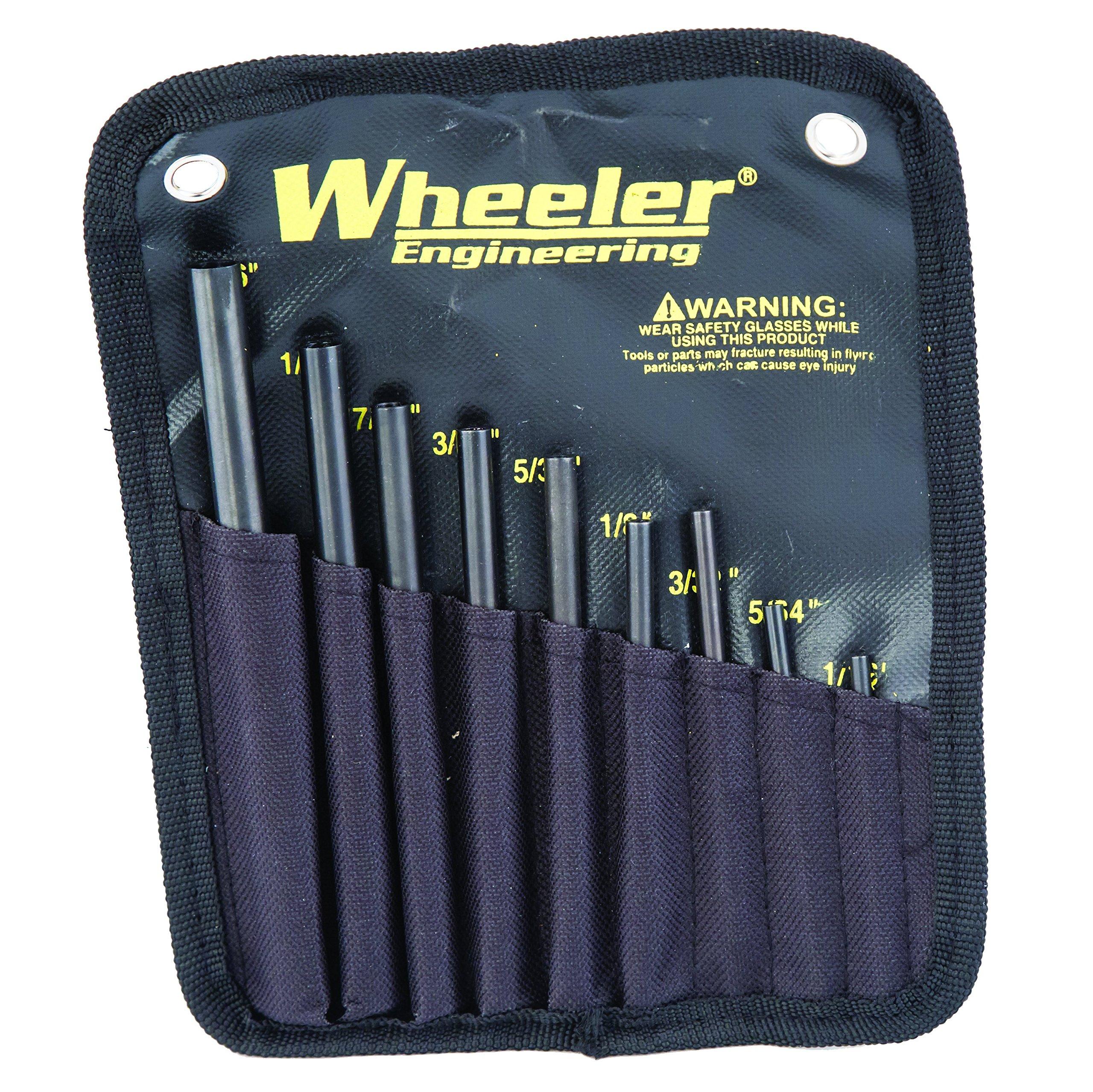 Wheeler Engineering Roll Pin Starter Punch Set by Wheeler (Image #3)