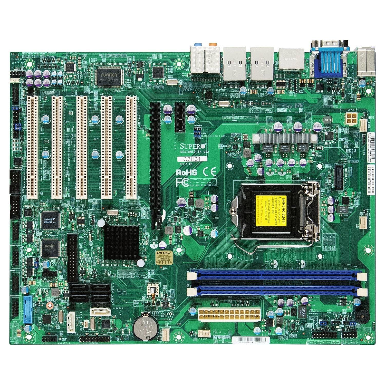 Amazon.com: Supermicro MBD-C7H61-O Motherboard Intel Core i7 ...
