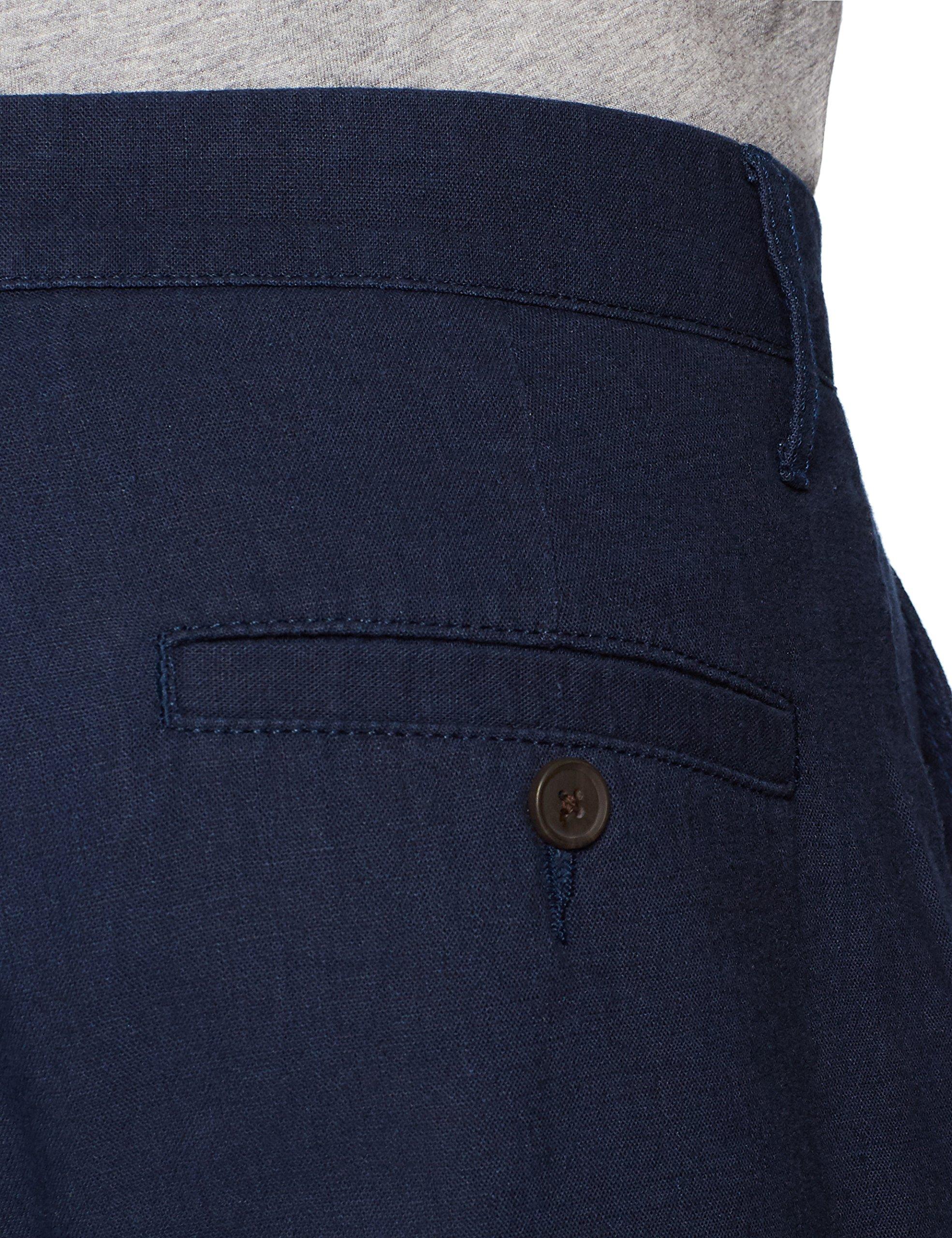 Goodthreads Men's 9'' Inseam Linen Cotton Short, Navy, 34 by Goodthreads (Image #5)