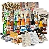 """""""BIRRE DEL MONDO"""" Selezione di 12 birre più esclusive del mondo. Pacchetto di degustazione. Ottima idea regalo per giovani e adulti."""
