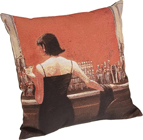 Brentwood 18-Inch Fine Art Tapestry, Evening Lounge