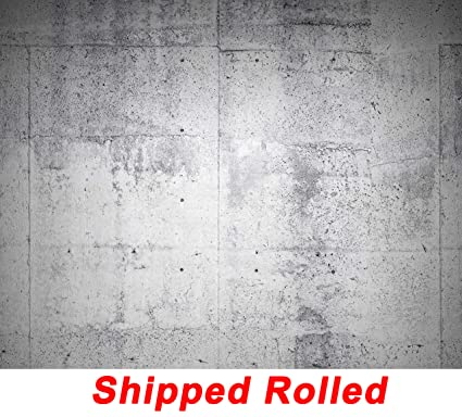 aada79de4afb8c Image Unavailable. Image not available for. Color  White Concrete Wall  Backdrop Cement Wall Chic Stylish Rustic Wall Portrait Printed Fabric  Photography ...