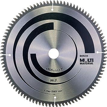 Bosch Professional 2 608 640 453 Hoja de sierra circular Multi Material - 305 x 30 x 3,2 mm, 96 (pack de 1), 305x30x3,2mm: Amazon.es: Bricolaje y herramientas