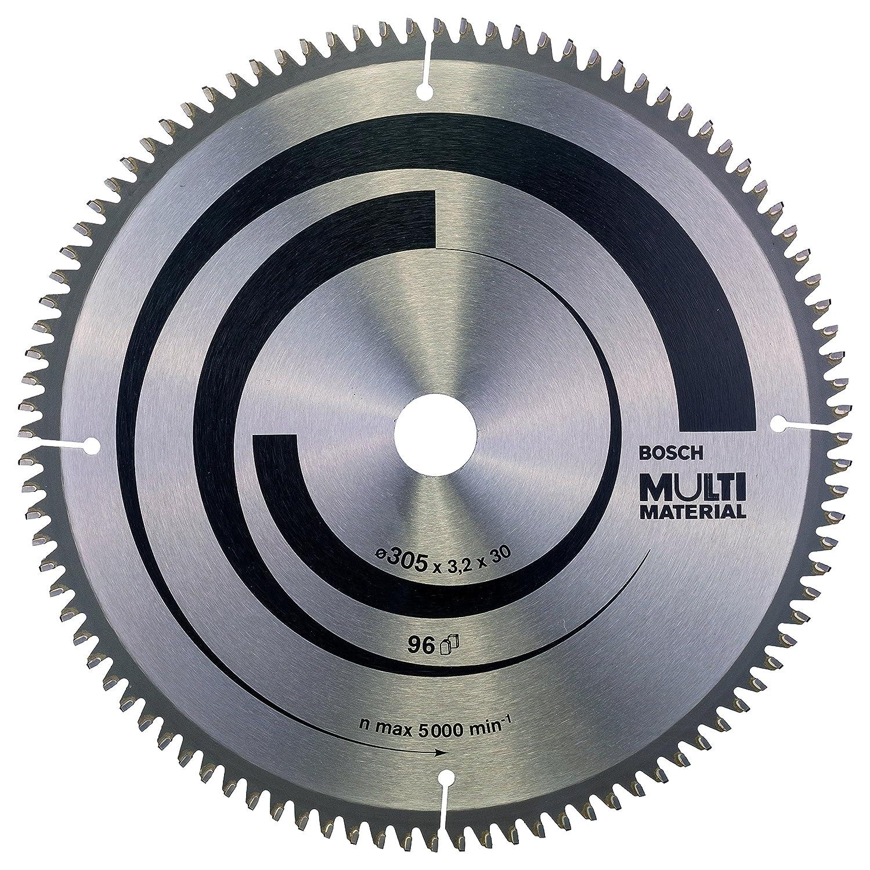 Bosch Professional Kreissä geblatt Multi Material (fü r Spanplatten, Faserwerkstoffe, Kunststoffe und Nichteisenmetalle) 2608640451