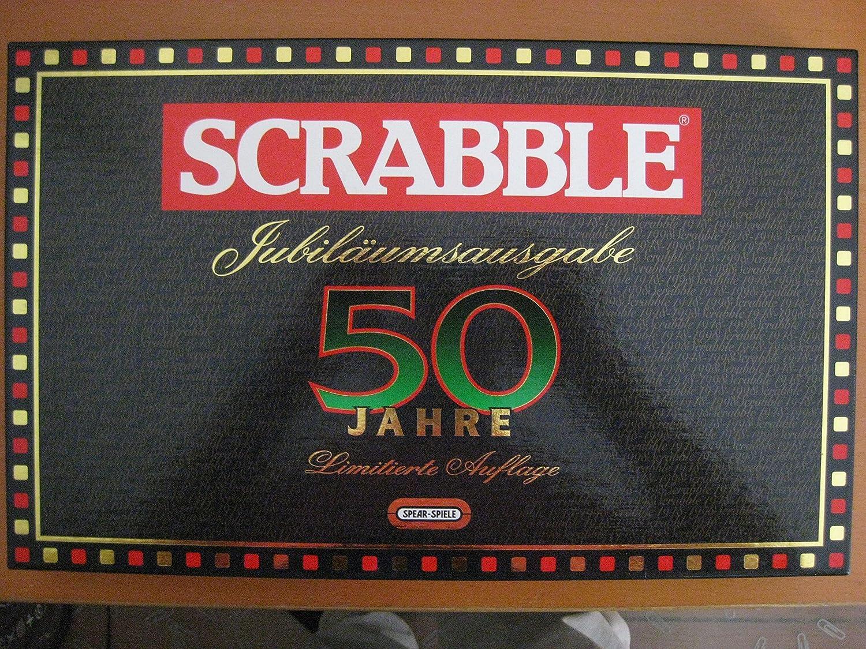 Scrabble - 50 Jahre limitierte Jubiläumsausgabe