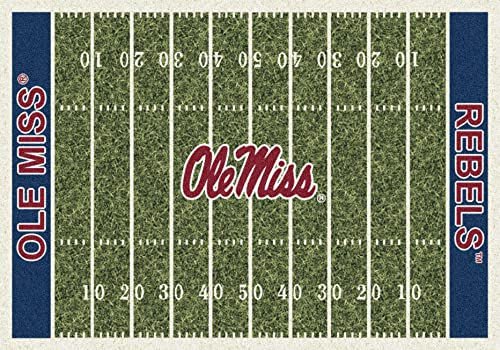 Mississippi Ole Miss Rebels 3 10 x 5 4 Home Field Area Rug