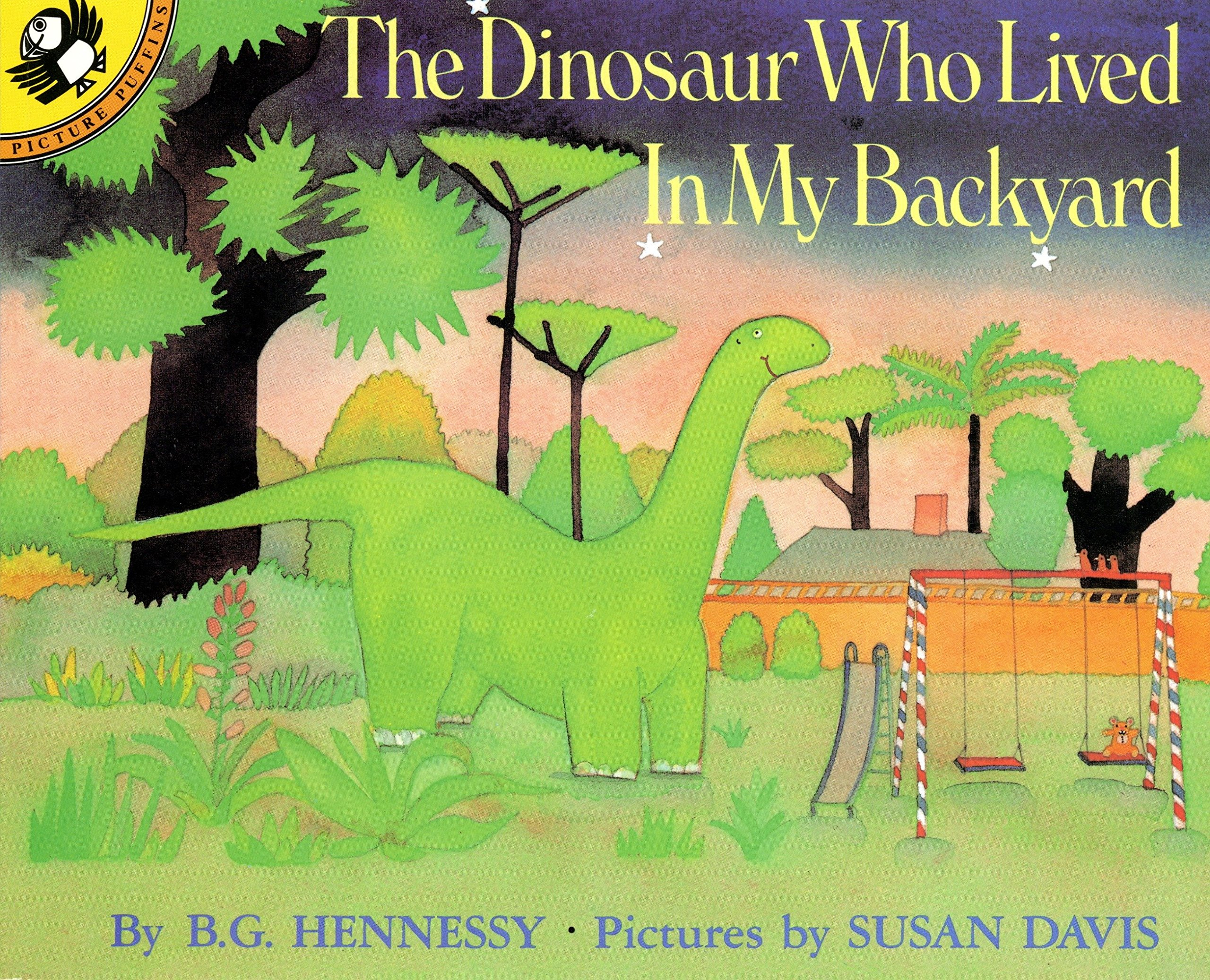 amazon the dinosaur who lived in my backyard picture puffins