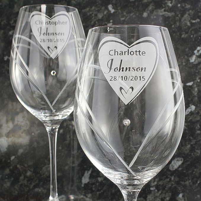 God Divine - Copas de Vino Personalizadas con Cristales de ...