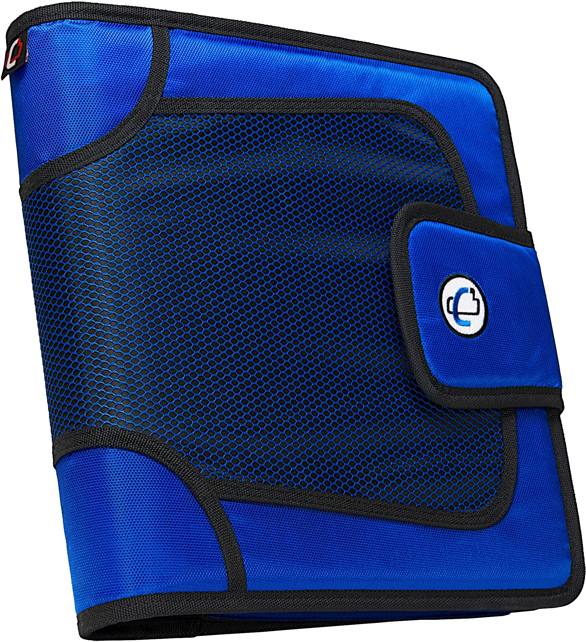 Case-it Open Tab Closure 2-Inch Binder with Tab File, Blue, S-816-BLU by Case it