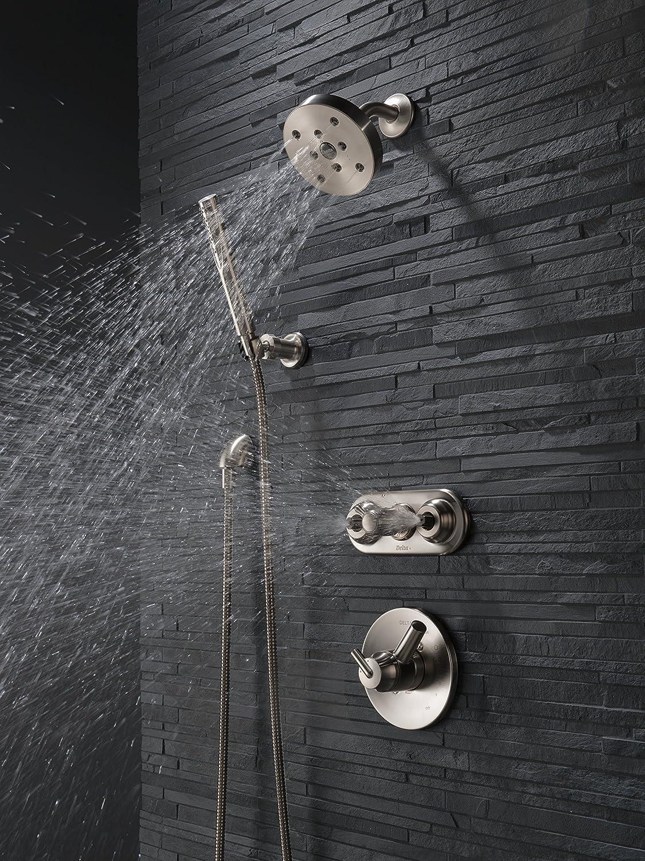 Delta Faucet T17259-SS Trinsic, 17 Series MultiChoice Shower Trim ...