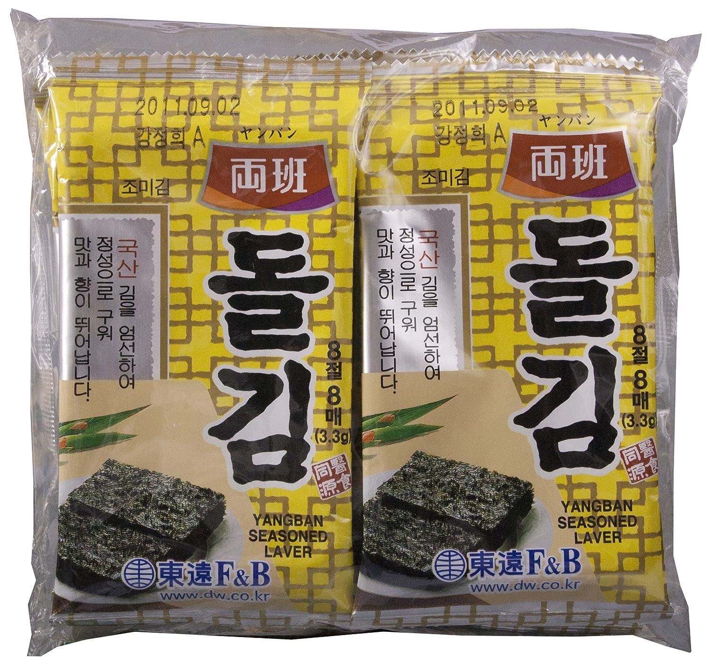 Dong Won Yangban Korean Seaweed, Iwanori, 0.93-Ounce (Pack of 8)