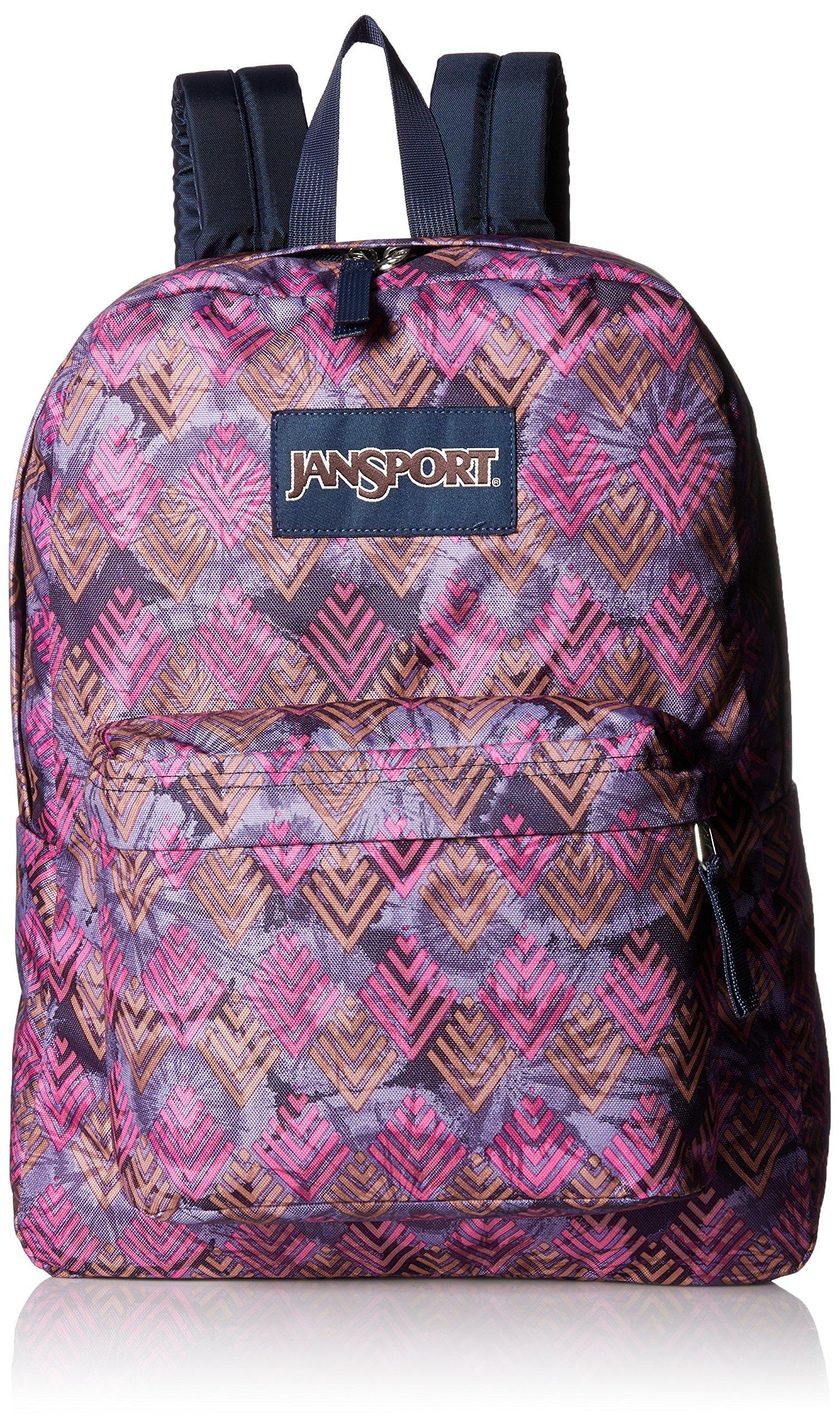 JanSport Superbreak Backpack- Sale Colors (Multi Diamond Arrows) by JanSport