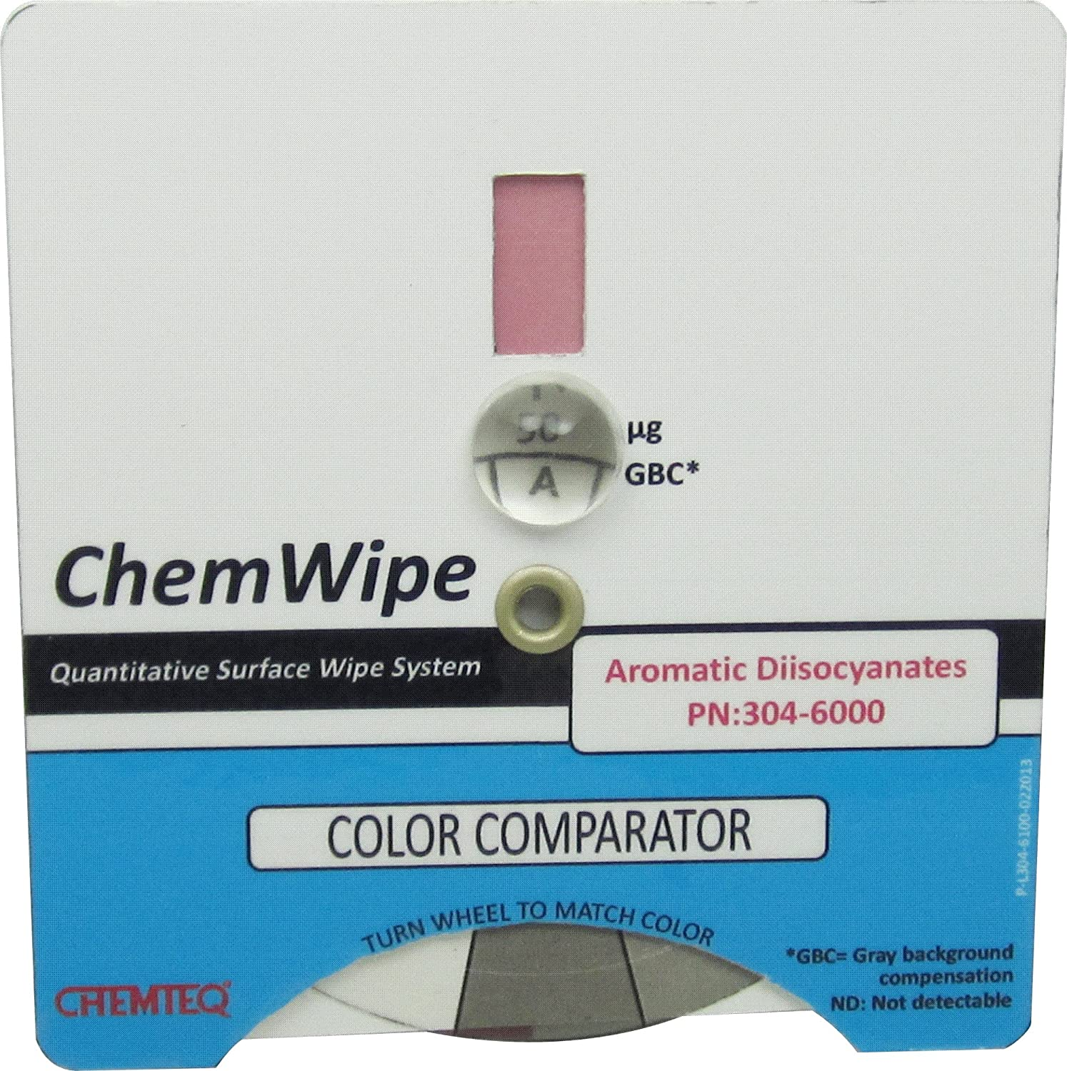 Aromatic Diisocyanates Color Comparator Chemteq 304-6000