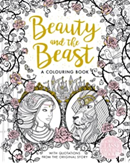 The Beauty And Beast Colouring Book Macmillan Classic Books