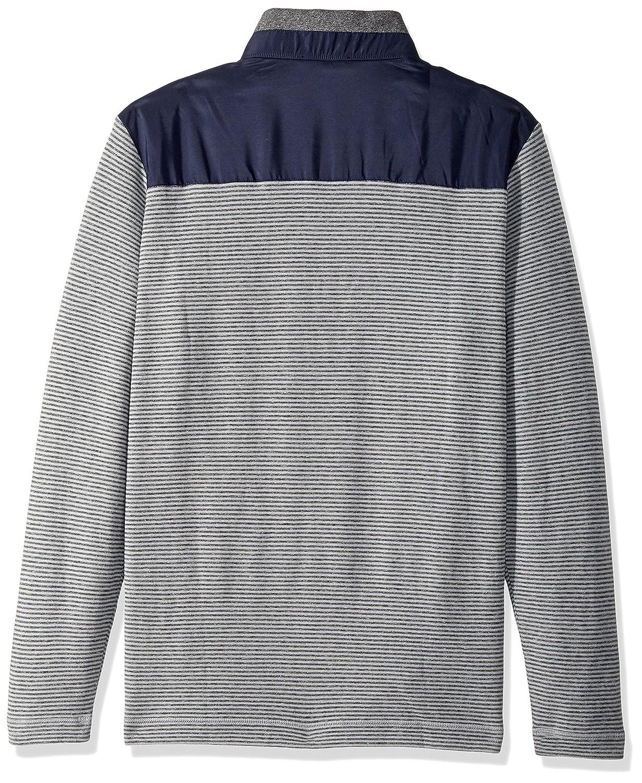 BUGATCHI Cemento Men s Knit Cotton Long Long Sleeve Half Zip Knit Shirt  Cemento cf401fe - thespecforceabs.review