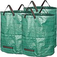 GardenMate 3x sacs de jardin 272L indéchirables