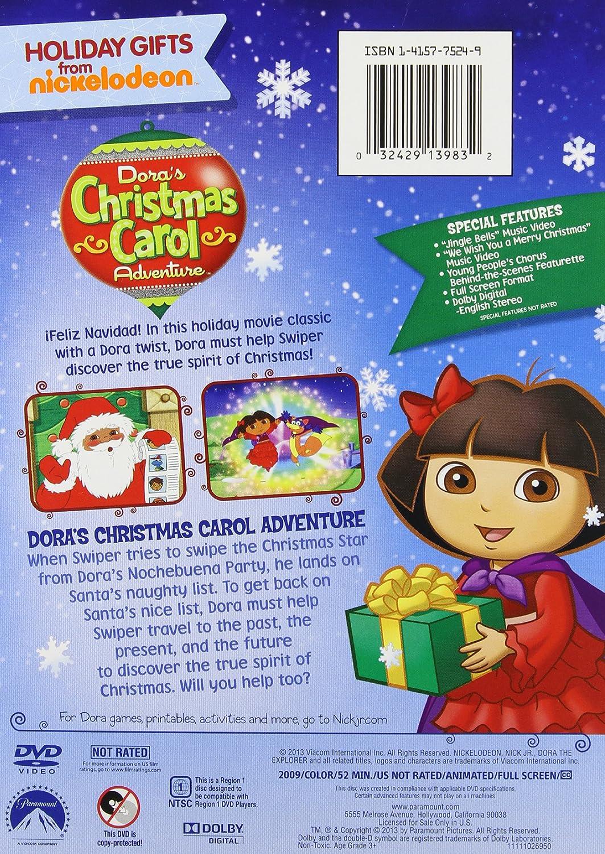 Amazon.com: Dora the Explorer: Dora's Christmas Carol: Dora the ...