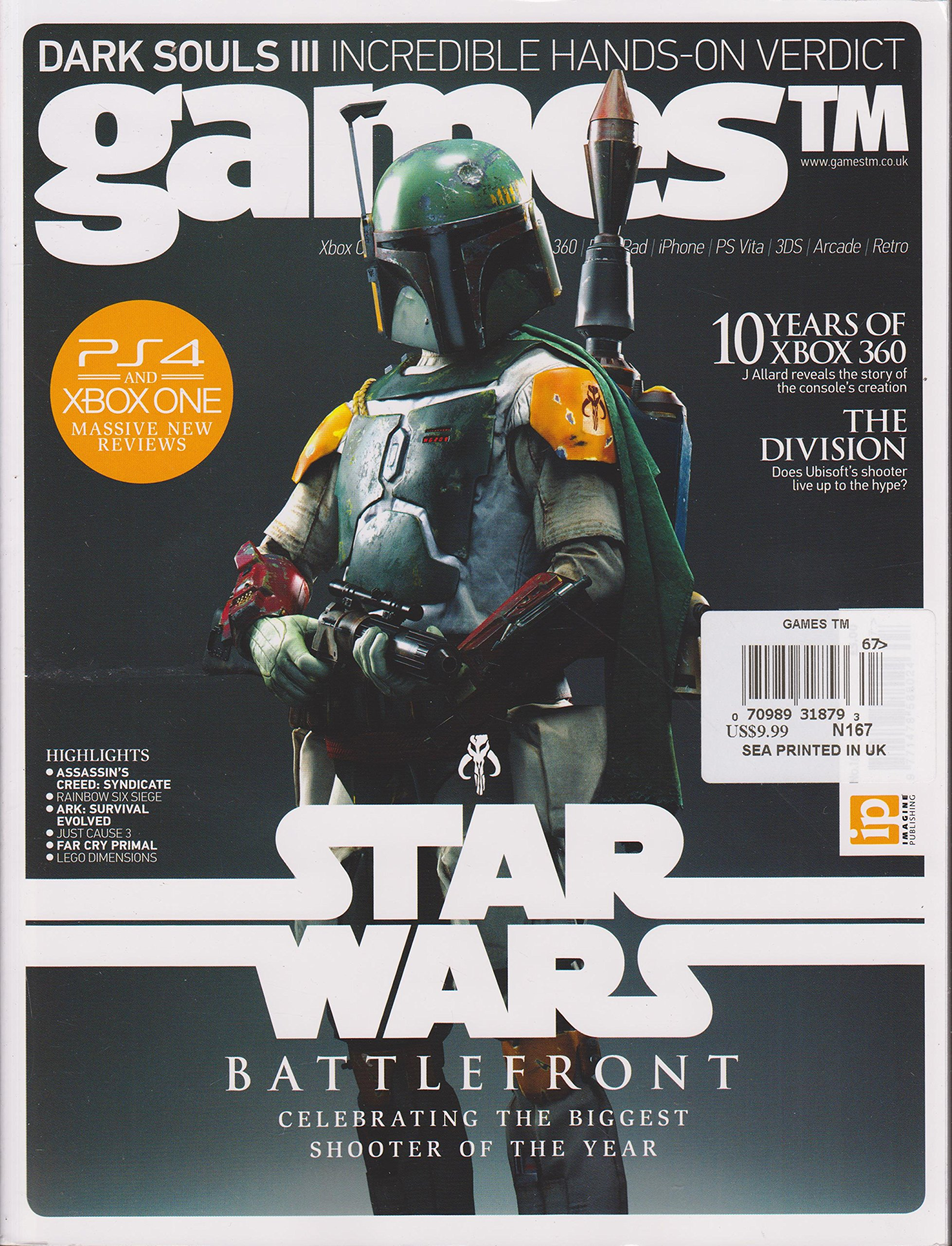 Games TM Magazine Number 167: Amazon com: Books