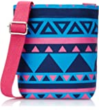 Kanvas Katha Women's Sling Bag (Blue) (KKUMS004TB)
