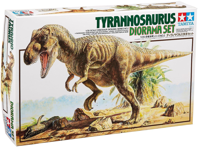 Tamiya - Maqueta de tiranosaurio escala 1:35 (60102) TM60102