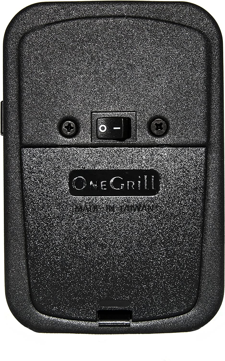 OneGrill Cordless Grill Rotisserie Motor-25 lb (Without AC Adapter, Matte Black Steel)