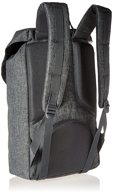 090257f5f1 Herschel Little America Backpack Charcoal Crosshatch Black Insert Rubber