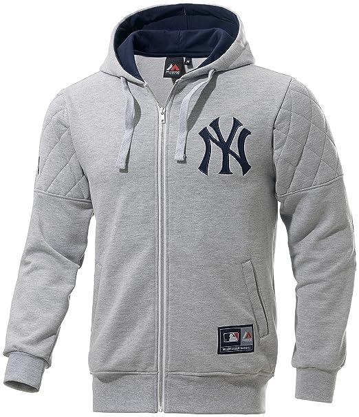 Majestic Sudadera MLB Jacket New York Yankees GR M: Amazon.es: Ropa y accesorios