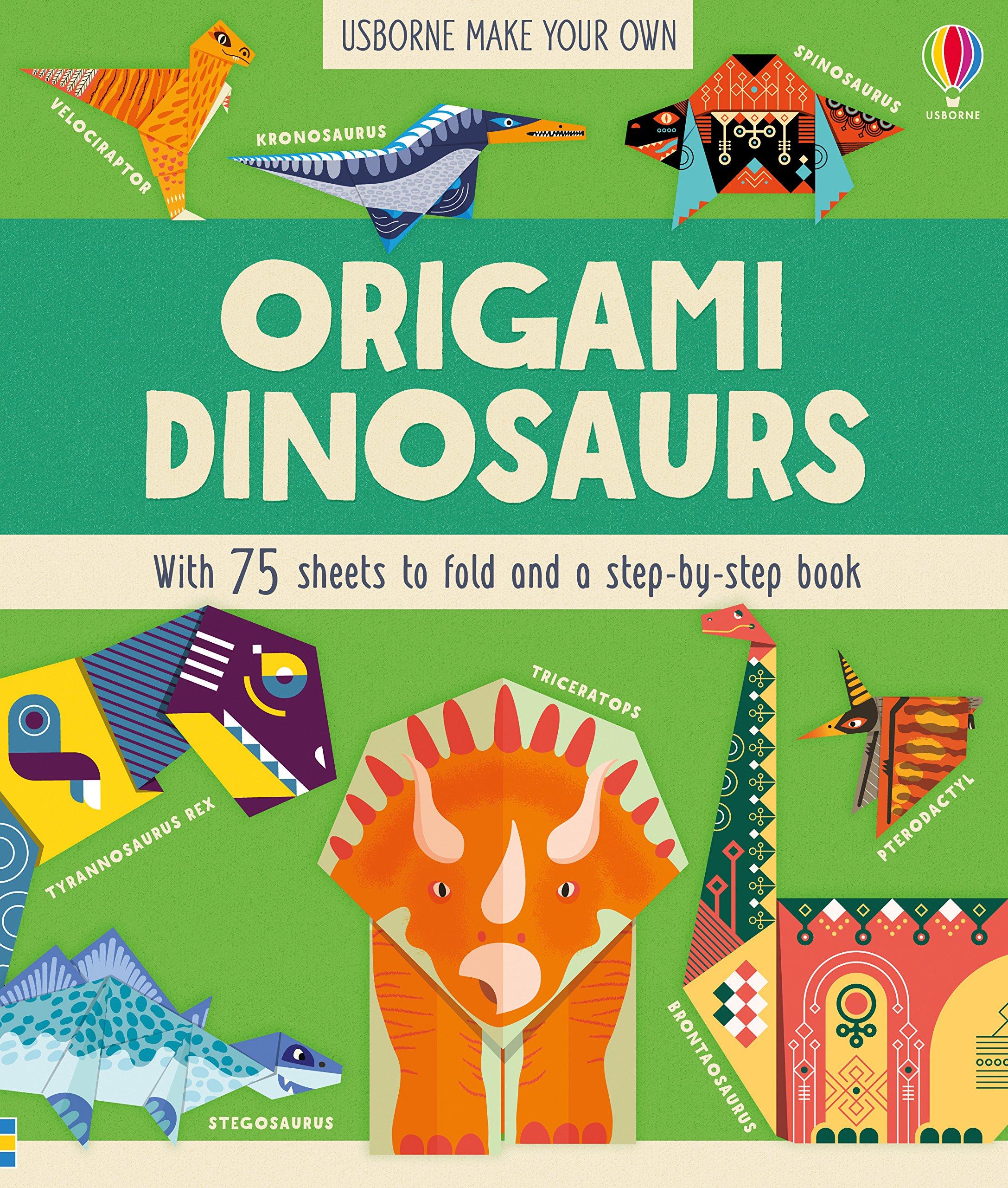 Origami Dinosaur Spinosaurus (How to make) - YouTube | 2560x2174