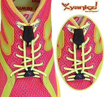 YANKZ - das Schnürstystem Cordón de zapatos multicolor Schwarz Multi Color Talla:talla única 7LXz7T