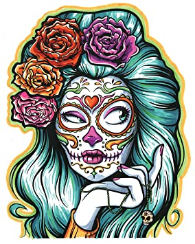 amazon com crayola art with edge sugar skulls coloring book