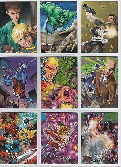 Amazon.com: 1996 Marvel Ultra Onslaught Base conjunto de ...