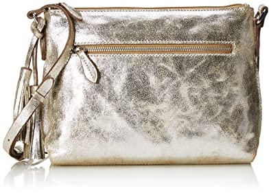 Tabley Park Damen Schultertaschen 32x21x6 cm (B x H x T), Weiß (White Leather) Clarks