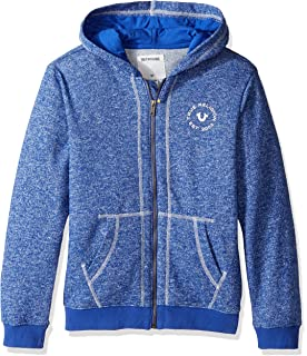84ee24ccb True Religion Kids Mens Marled French Terry Hoodie (Toddler/Little Kids)